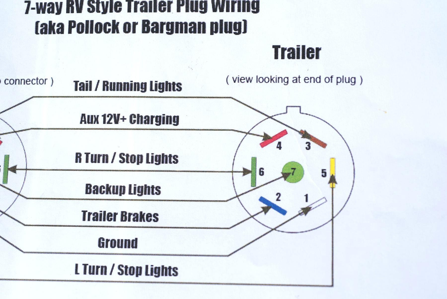 6 Pin Trailer Connector Wiring Diagram Collection