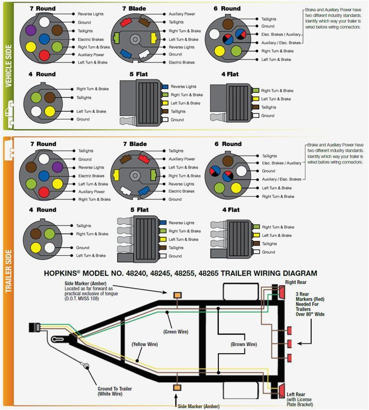 7 pin to 4 pin trailer wiring diagram Collection-Wiring Diagram Detail Name trailer wiring diagram 4 pin 9-q