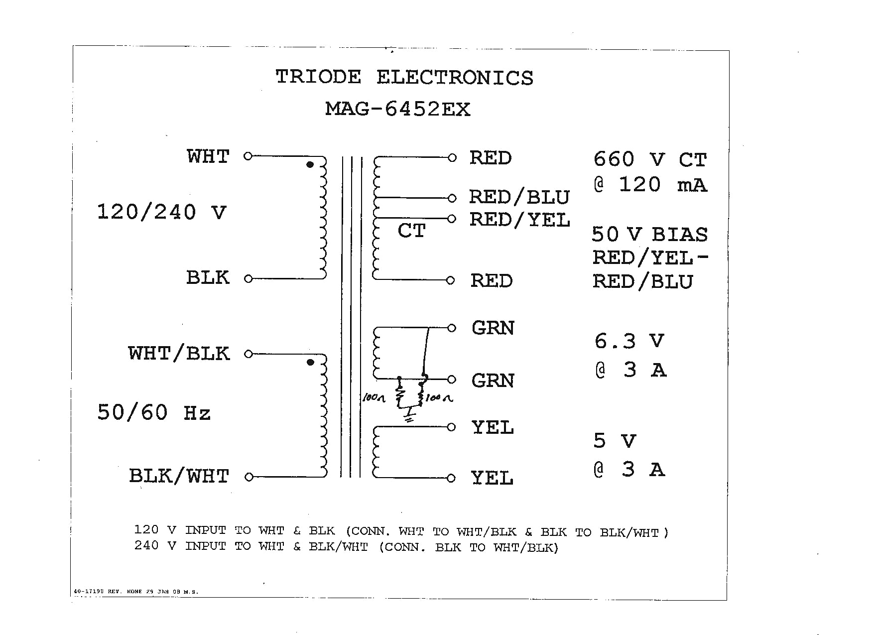 75 kva transformer wiring diagram Collection-Acme Transformers Wiring Diagrams 7-j