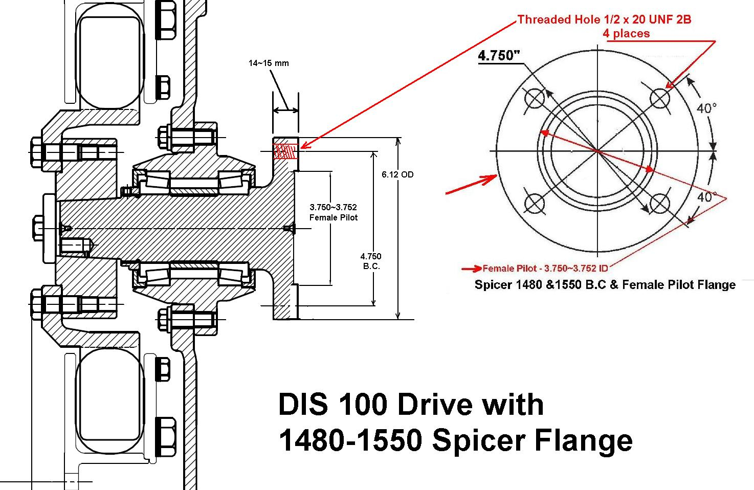 8.3 cummins fuel shutoff solenoid wiring diagram Collection-DIS 100 Bellhousing Mount PTO Couplings 9-h
