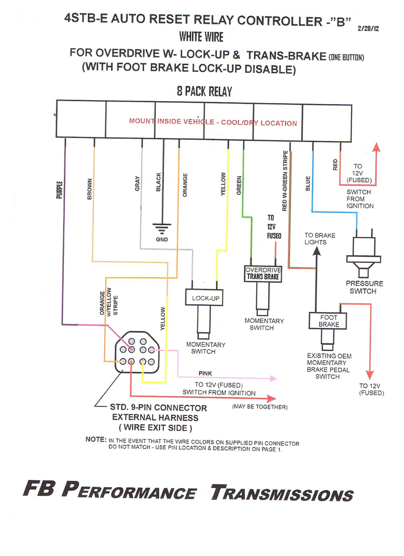 8 parking sensor wiring diagram Download-WIRING and Operation 9 pin Feb 2012 19-f