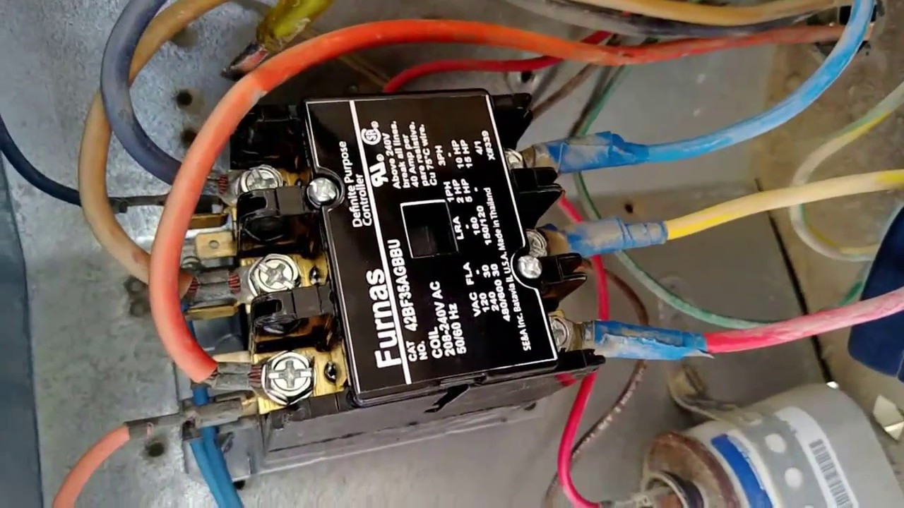 ac contactor wiring diagram Collection-240 Volt Contactor Wiring Diagram 6 2-m