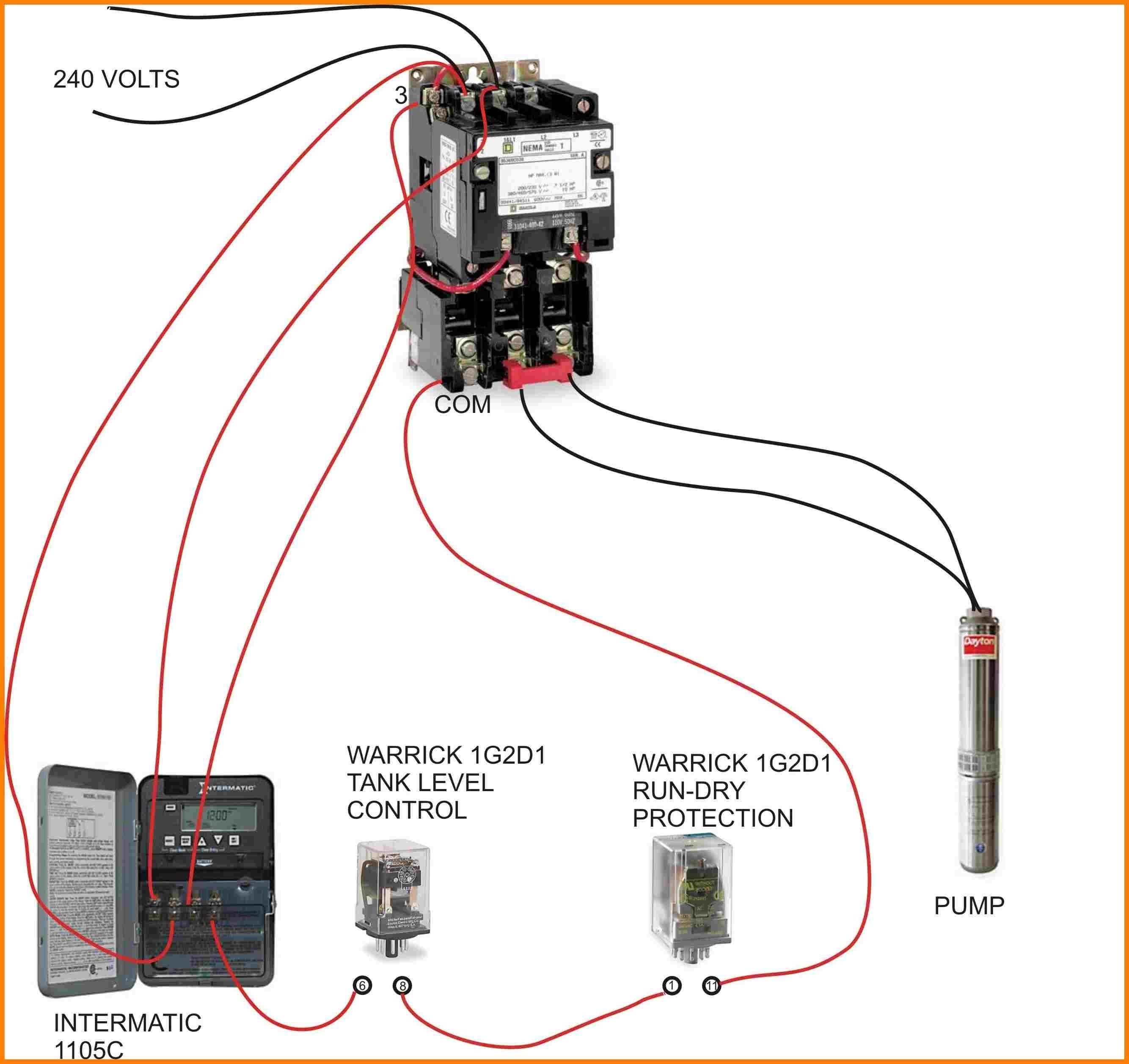 ac contactor wiring diagram Collection-Wiring Diagram For A 240 Volt Relay New Refrence Wiring Diagram For Ac Contactor 7-f