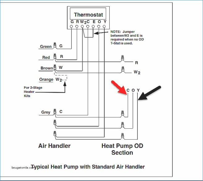 ac low voltage wiring diagram Download-Installing orange Wire for Heat Pump Fresh Wiring Diagram for A Heil Air Conditioner 8-j