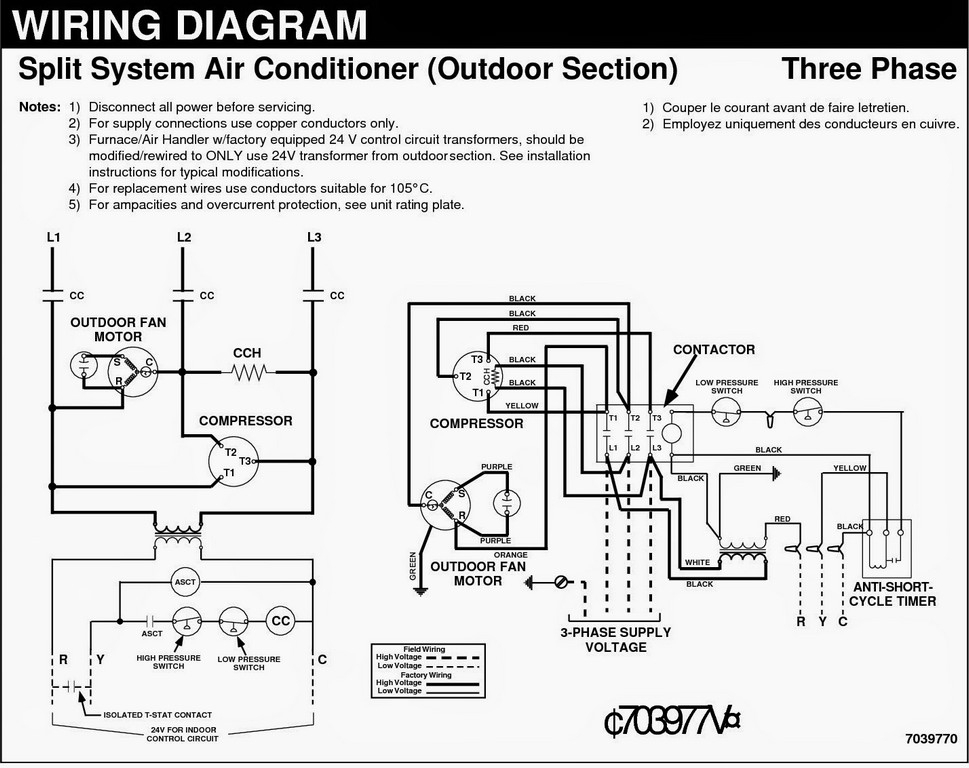 air conditioner thermostat wiring diagram sample