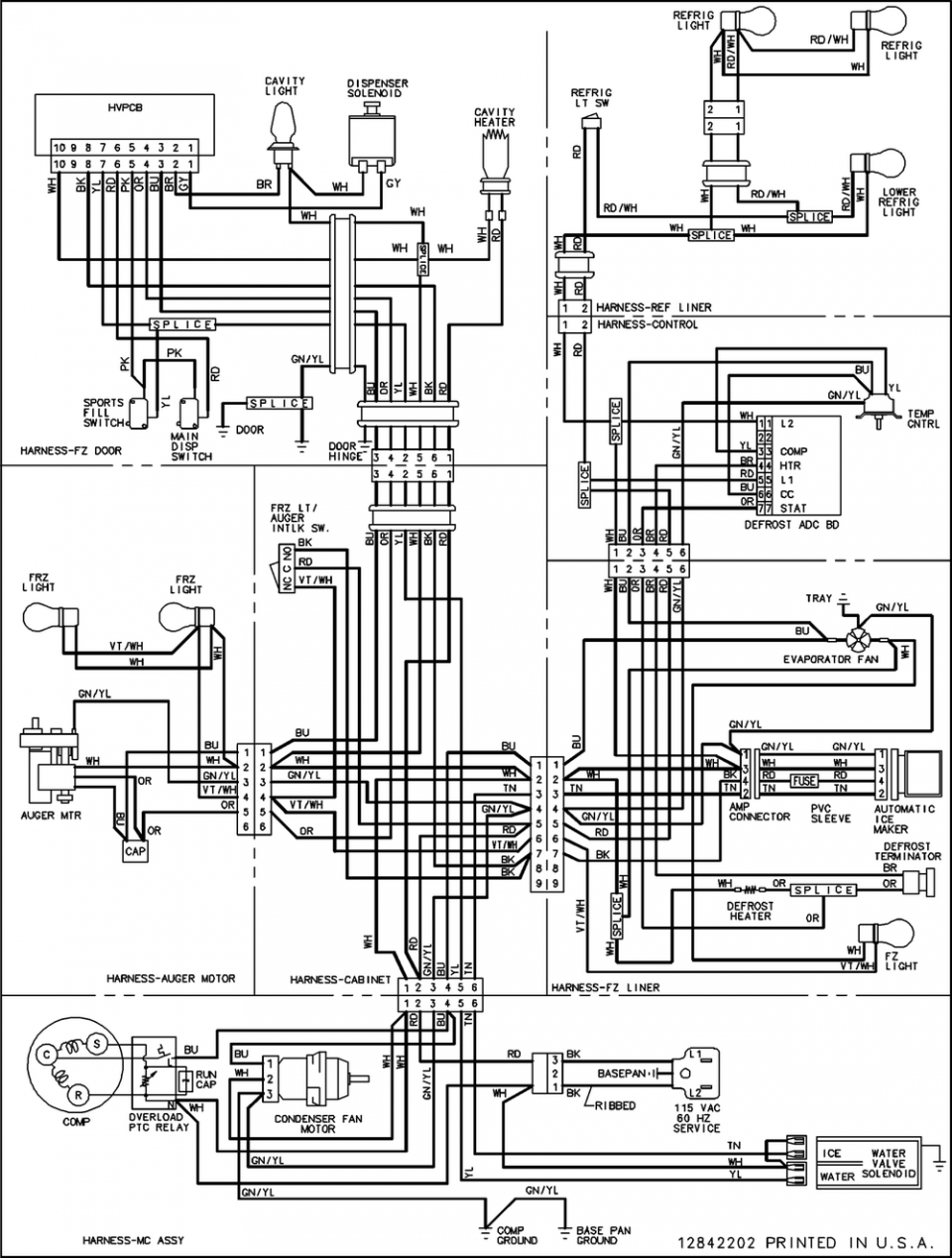 amana ptac wiring diagram Collection-Amana Ptac Wiring Diagram Fresh Diagrama Ptac Sleeve Installation Instructions Wired thermostat 1-l