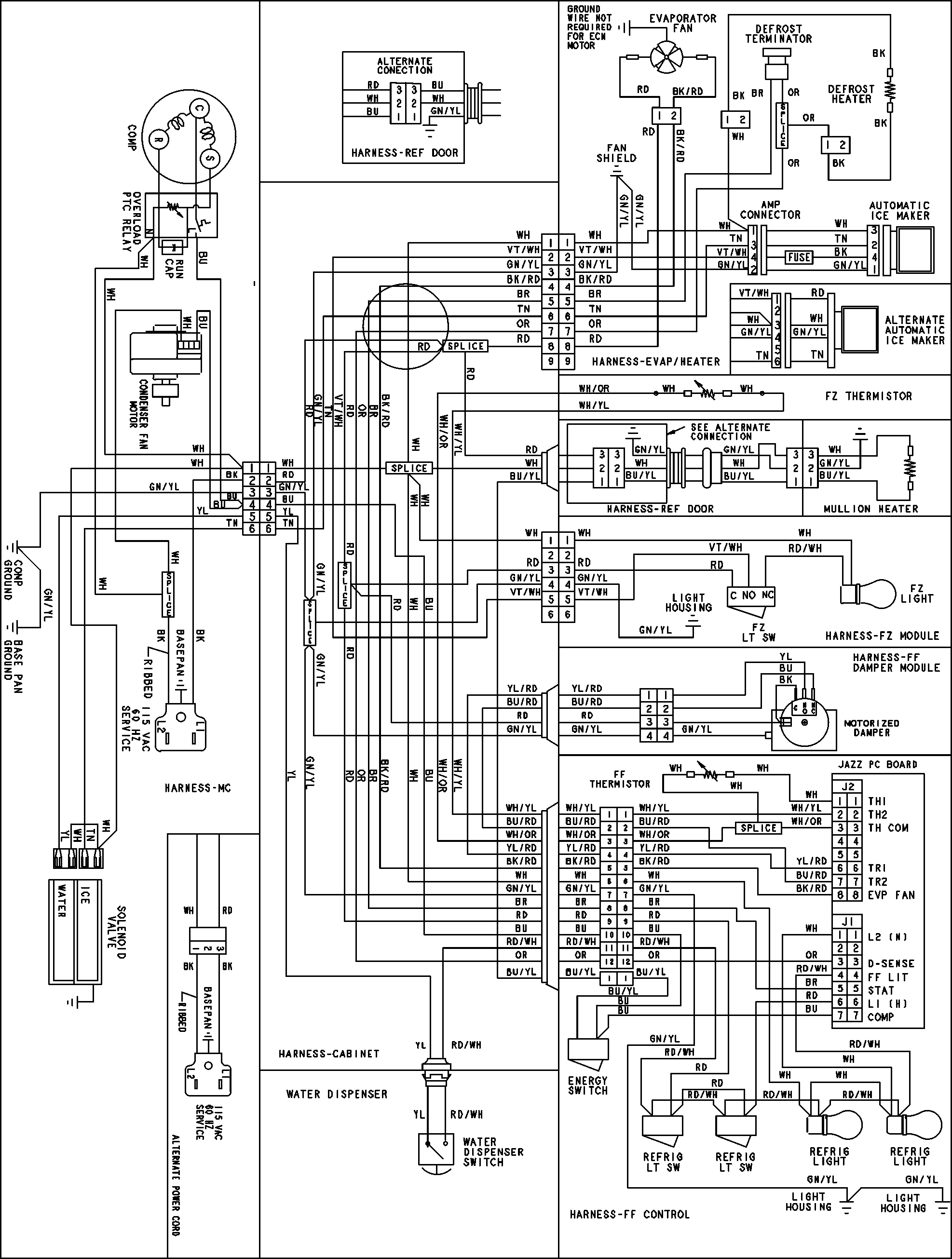amana ptac wiring diagram Collection-Amana Ptac Wiring Diagram Unique Amana Amana Refrigerator Parts Model Afd2535fes 16-p
