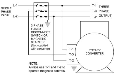 american rotary phase converter wiring diagram Download-gallery of Rotary Phase Converter Wiring Diagram 13-j