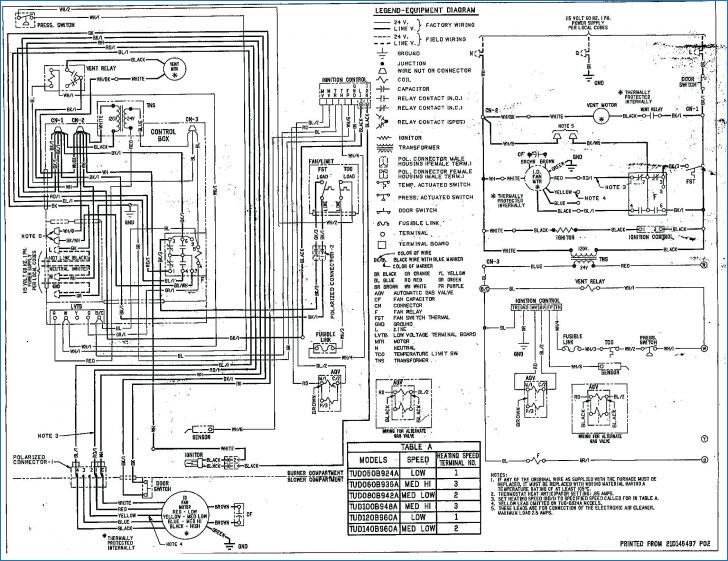 american standard furnace wiring diagram Collection-American Standard Furnace Wiring Diagram Schematic Gas Simple 20-c