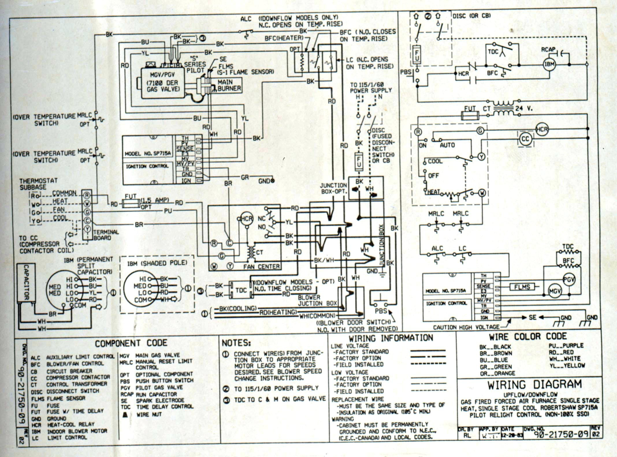 american standard furnace wiring diagram Download-Wiring Diagrams For Gas Furnace Valid Refrence Wiring Diagram For Carrier Electric Furnace 2-d