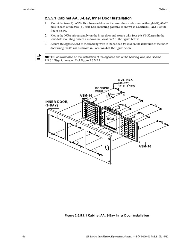 aom 2sf wiring diagram Download-Plates Optional 46 46 E3 Series Installation Operation Manual 11-h