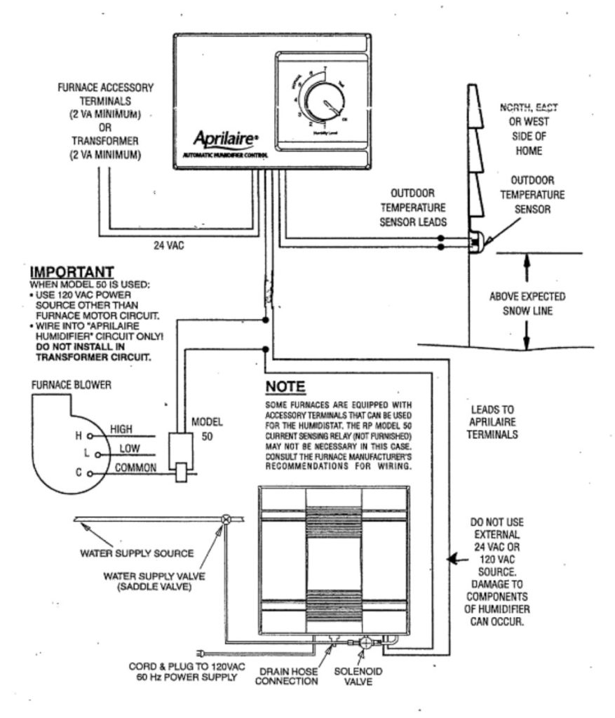 aprilaire model 600 wiring diagram Collection-Aprilaire 700 Wiring Diagram 20-b
