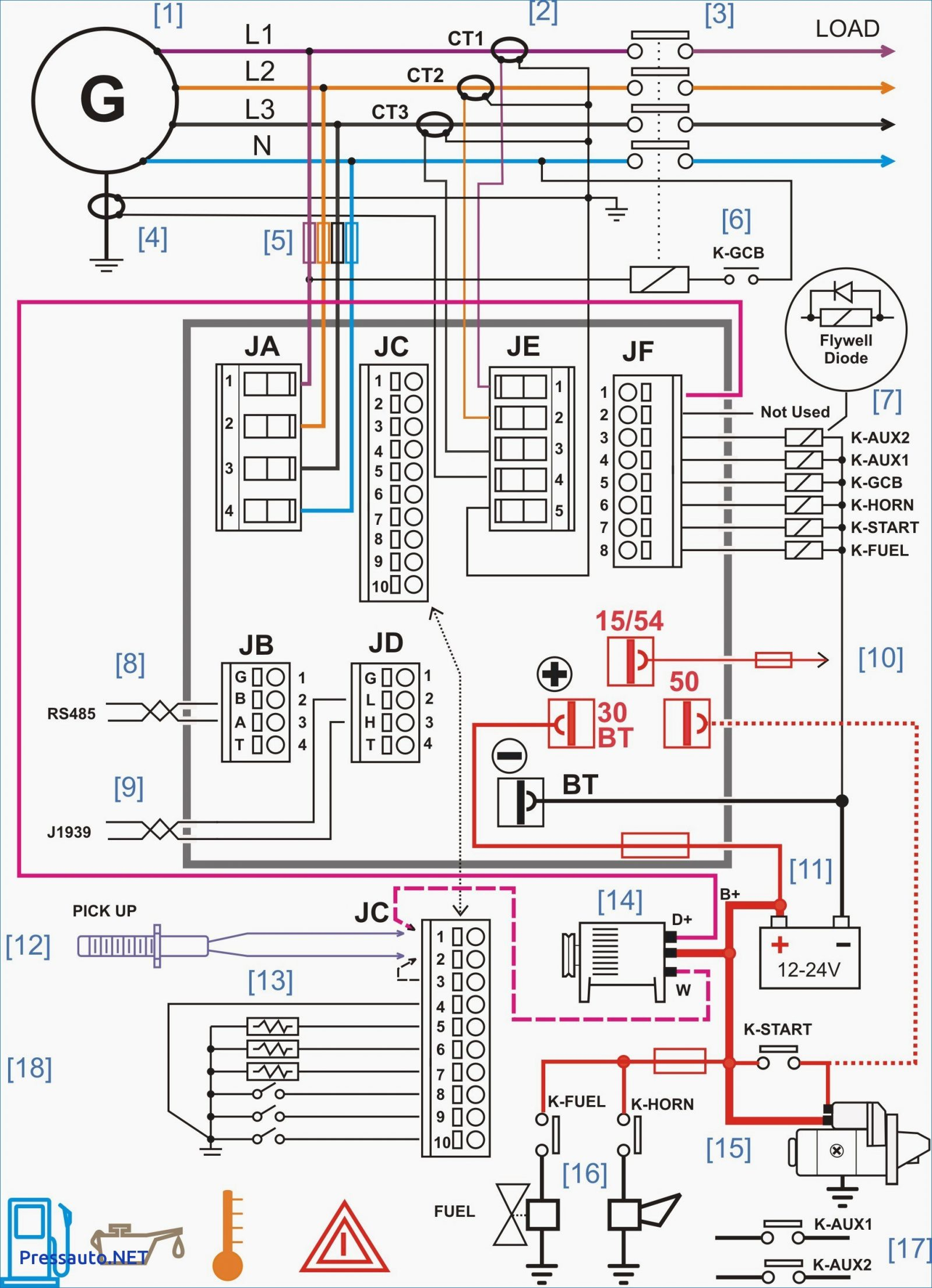 Yamaha Xs Simple Wiring Diagram on