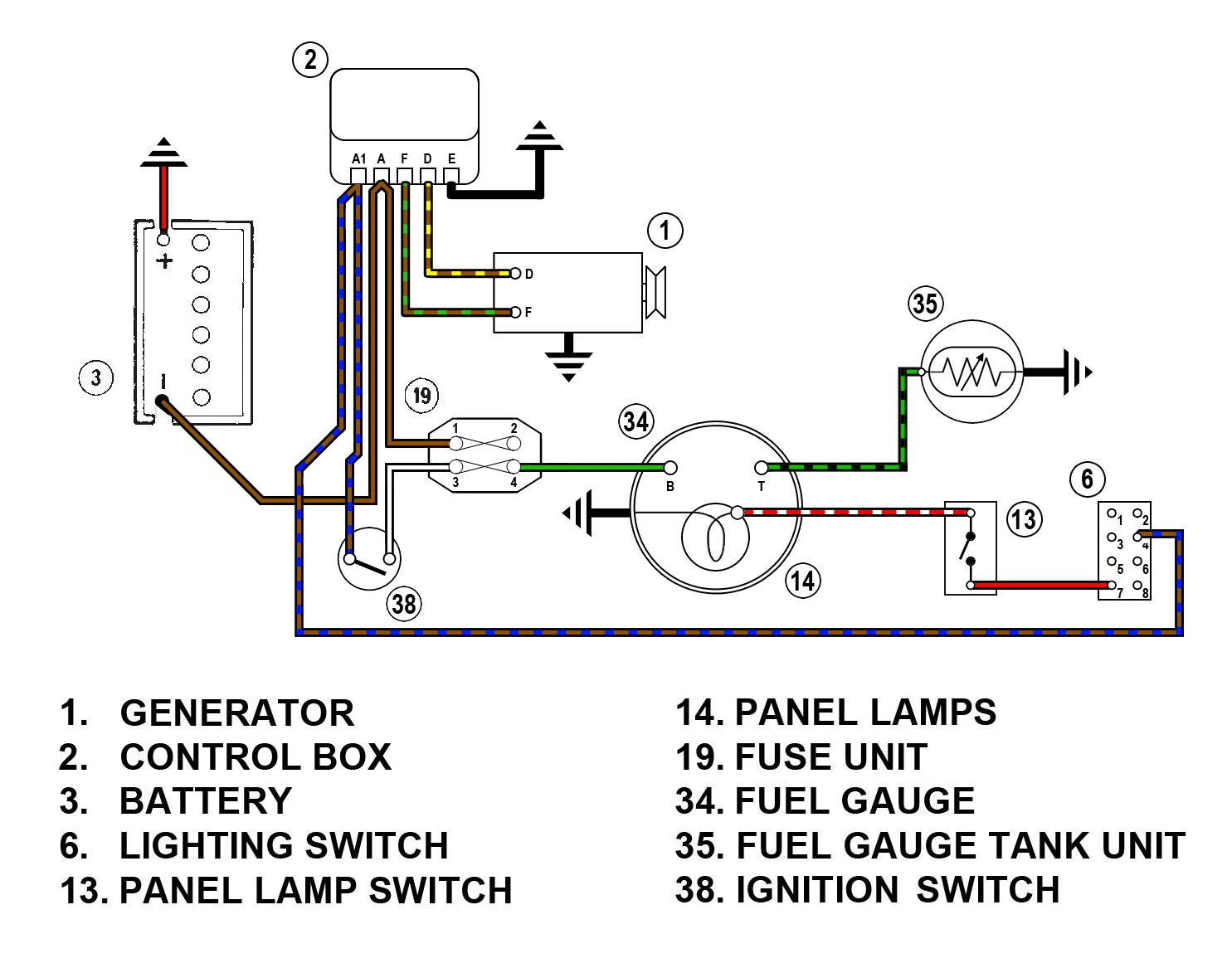 auto meter wiring diagram Collection-10 Auto Meter Wiring Diagram 5-i