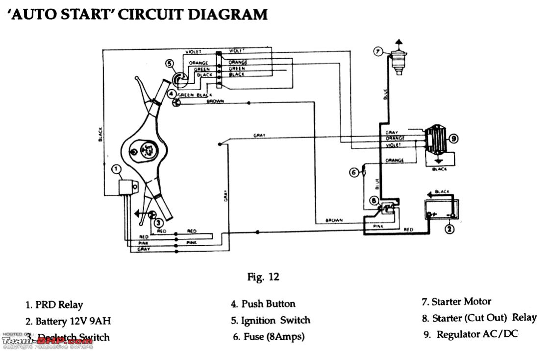 auto meter wiring diagram Download-DIY tacho for a car using a bike s tacho manual diagram part 12-t