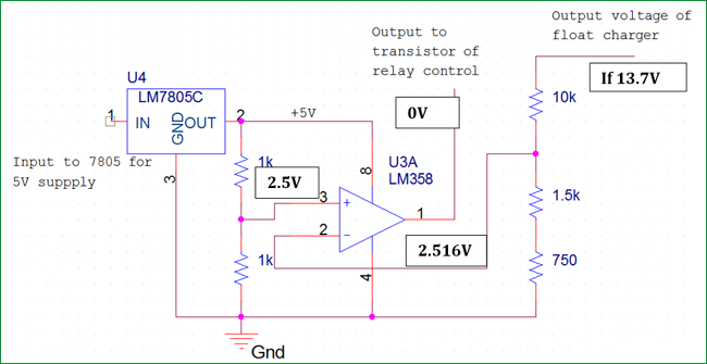 automatic charging relay wiring diagram Download-automatic cut off relay section for float charger circuit 2 17-r