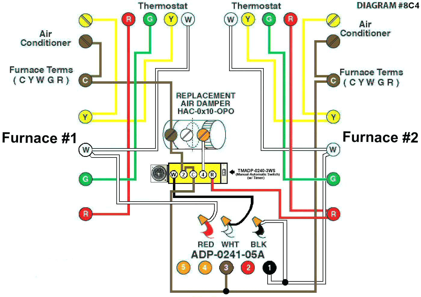 Automatic Vent Damper Wiring Diagram Collection Immersion Heater Awesome Furnace