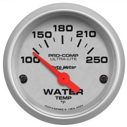 """autometer gps speedometer wiring diagram Download-2 1 16"""" WATER TEMPERATURE 100 250 °F AIR CORE ULTRA LITE 20-o"""