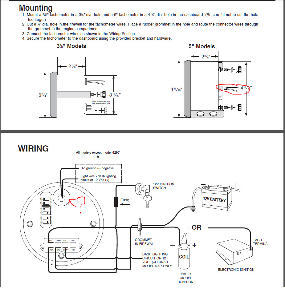 autometer tach wiring diagram Download-Auto Meter Wiring S With Schematic Pics Linkinx Inside Tach Gauge 3-n