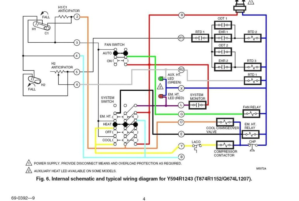 avtron load bank wiring diagram Collection-7 wire thermostat wiring diagram Download How To Wire A Honeywell Thermostat With 7 Wires 3-d