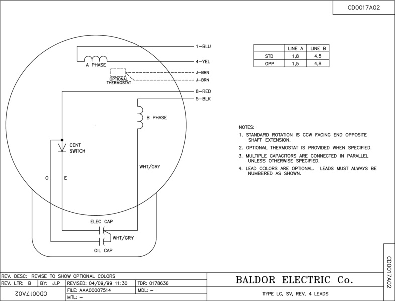 baldor 1.5 hp wiring diagram Collection-1 Hp Baldor Motor Wiring Wiring Diagram 13-b