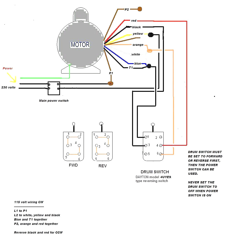 Baldor Reliance Industrial Motor Wiring Diagram Download