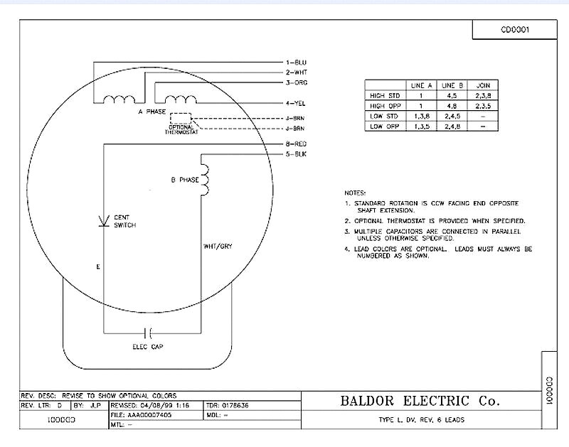 baldor single phase 230v motor wiring diagram Download-Baldor Reliance Single Phase Motor Wiring Diagram Diagrams Tearing Electric 6-j