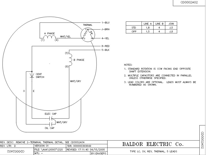 baldor single phase 230v motor wiring diagram Collection-Connection Diagram 15-r