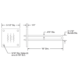 band heater wiring diagram Collection-Flange Heater Drawing 11-t