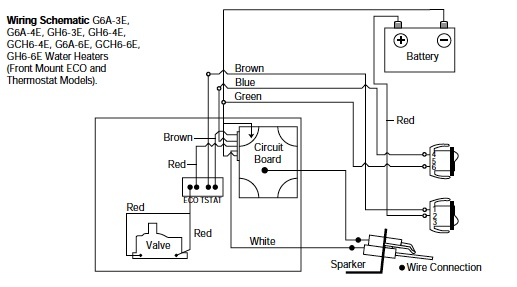band heater wiring diagram Collection-Water Heater 15-g
