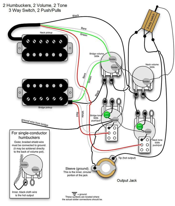 bass wiring diagram 2 volume 2 tone Collection-The world s largest selection of free guitar wiring diagrams Humbucker Strat Tele Bass and more 20-j