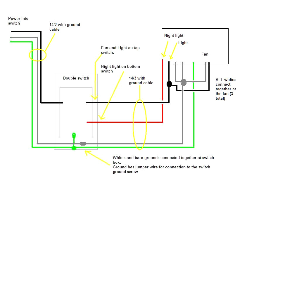 bathroom fan with timer wiring diagram Collection-Wiring Diagram Bathroom Fan Timer Uk Simple 12v Extractor Isolator Switch For How To 15-f