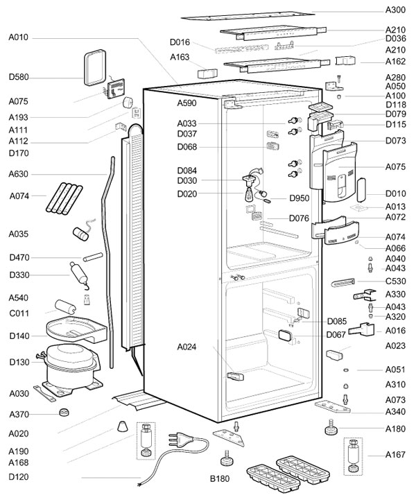 Beko Fridge Freezer Thermostat Wiring Diagram Sample