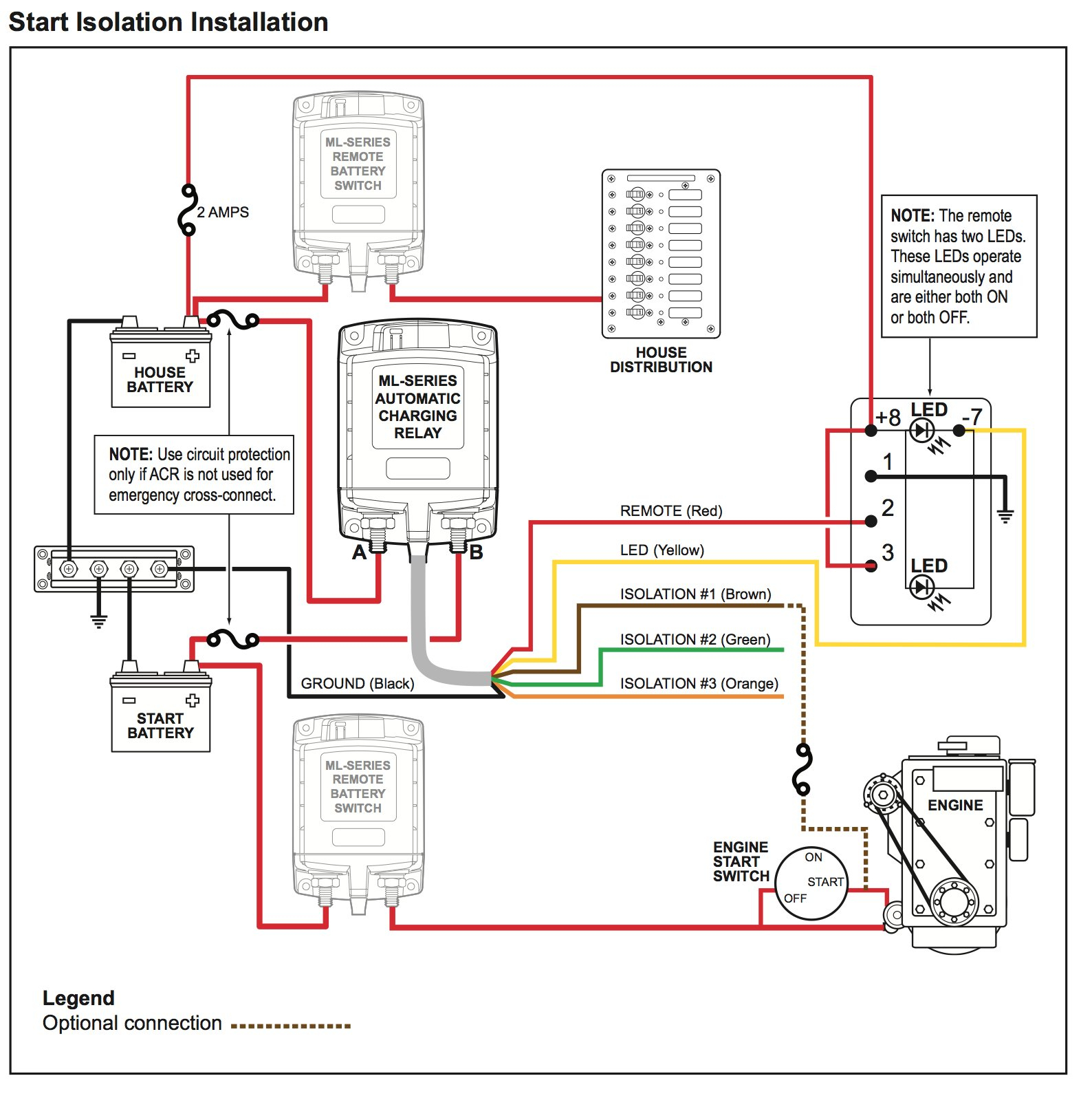blue sea dual battery switch wiring diagram Collection-Sure Power Battery isolator Wiring Diagram Best Blue Sea Ml Acr 500 Amp Dual Battery 15-i