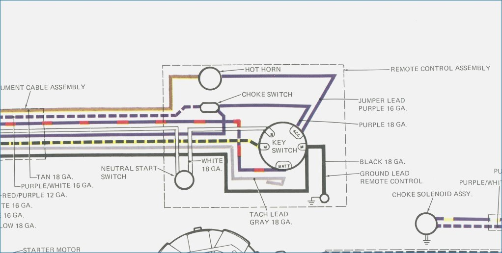 boat ignition switch wiring diagram Collection-Boat Ignition Switch Diagram Awesome Key Switch Wiring Diagram & Mercury Outboard Key Switch Wiring 7-l