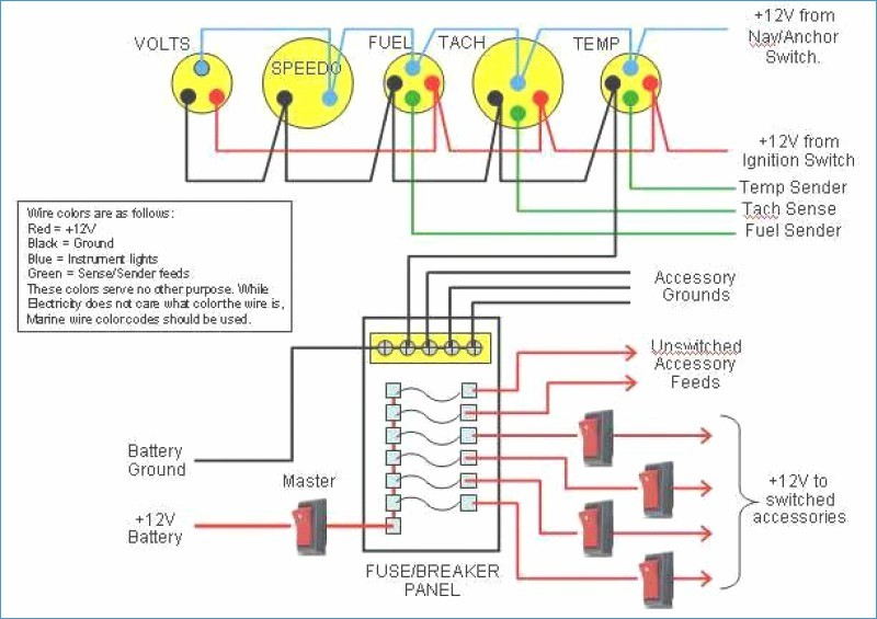 boat ignition switch wiring diagram Collection-Main Panel Wiring Diagram – bestharleylinksfo · Wiring Diagram Key – banksbankingfo marine wiring diagram 10-f