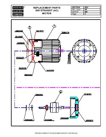 bodine electric dc motor wiring diagram Download-replacement parts 34r straight ac motor Bodine Electric pany 10-s