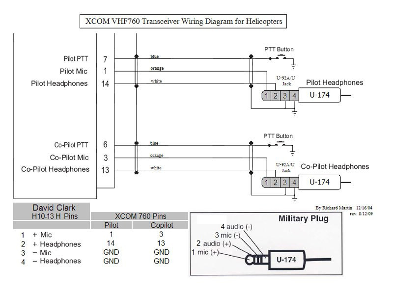 bose a20 wiring diagram Collection-David Clark Headset Wiring Diagram David Clark Aviation Headset Wiring Diagram David Clark Model Wire 13-l