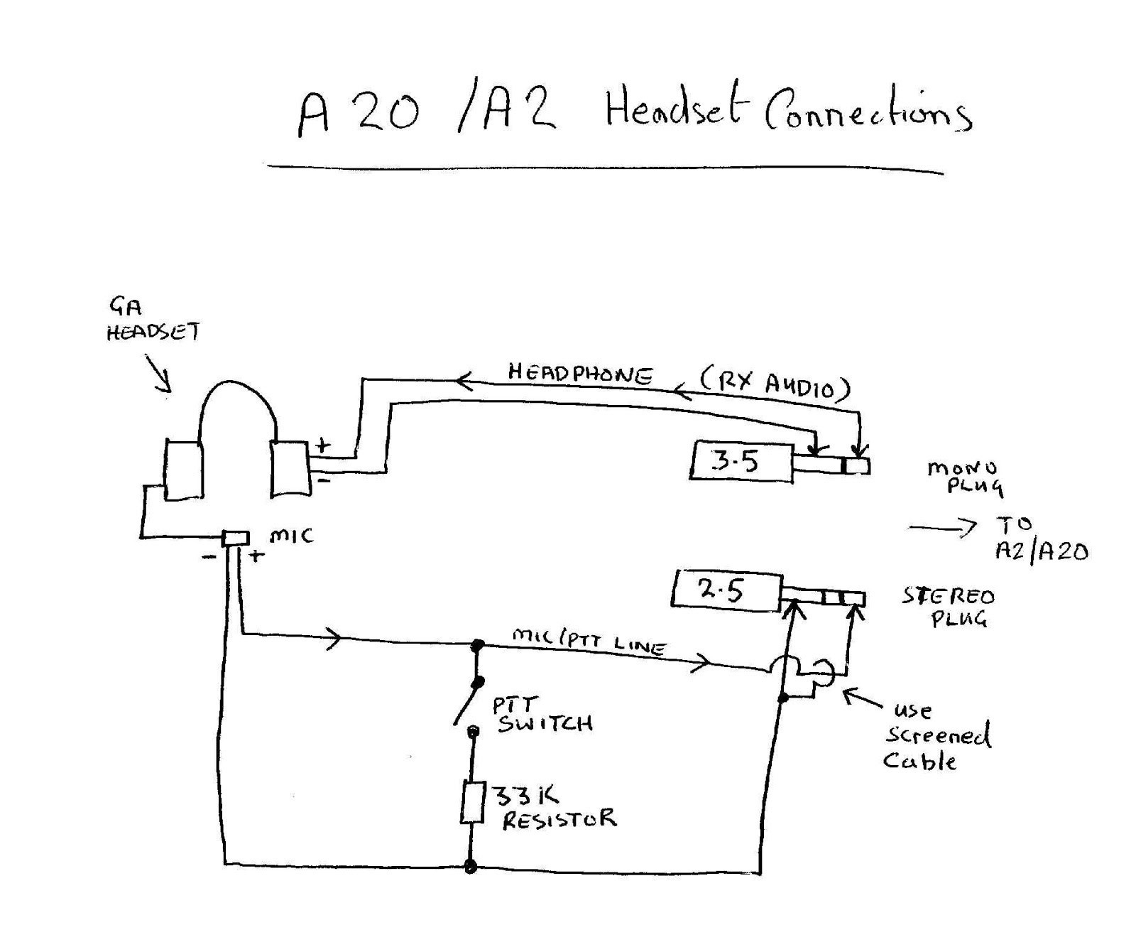 bose a20 wiring diagram Collection-Kenwood Microphone Wiring Diagram New Luxury Headphone With Mic Wiring Diagram Wiring 4-j