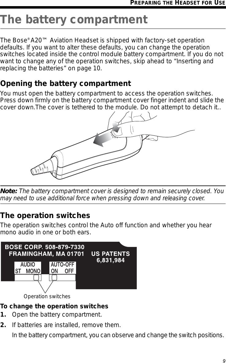 bose a20 wiring diagram Download-Page 13 of Bluetooth Headset User Manual Bose Corporation 16-t