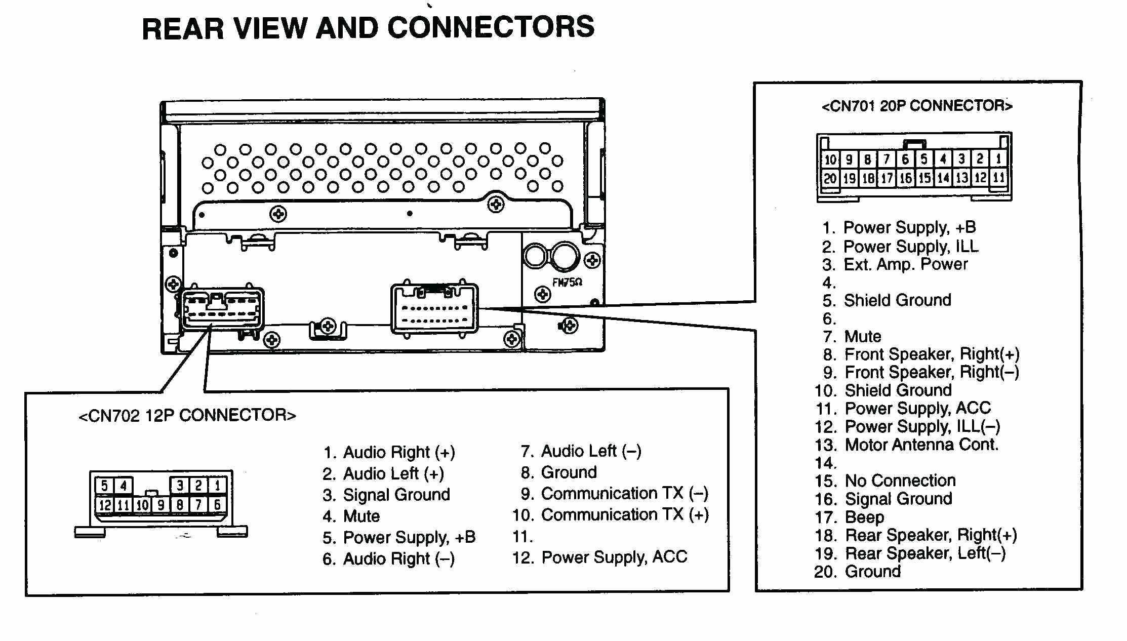 bose amp wiring diagram Download-Audi A4 Bose Amp Wiring Diagram New Lovely Car Stereo Wiring Diagram Diagram 1-t