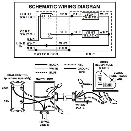 broan bathroom fan wiring diagram Collection-Smart Broan Bathroom Fan Parts Beautiful Bathroom Exhaust Fan Parts Decoration Lovely And Luxury 12-s