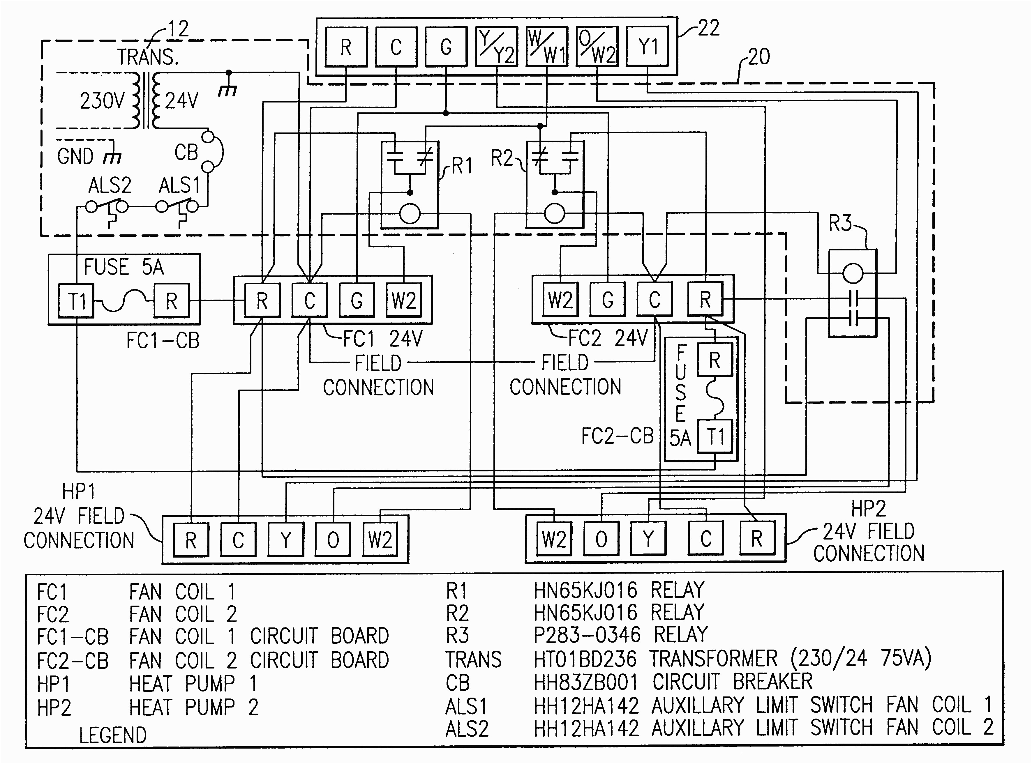 carrier air conditioner wiring diagram Collection-Wiring Diagrams For Hvac Fresh Wiring A Ac Thermostat Diagram New Carrier Wiring Diagram 48dp016 2-n