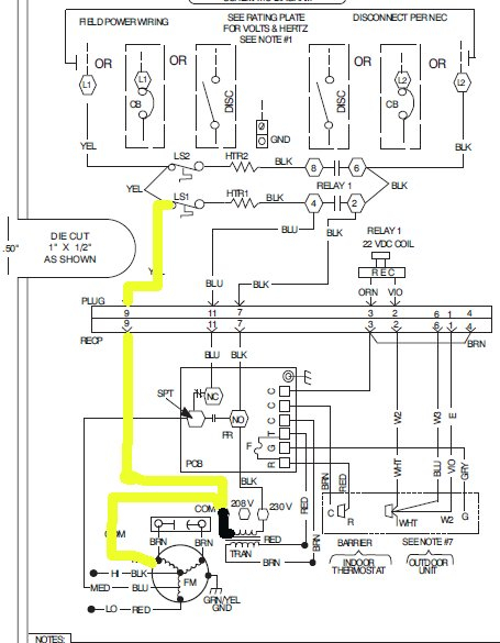 carrier heat pump low voltage wiring diagram download