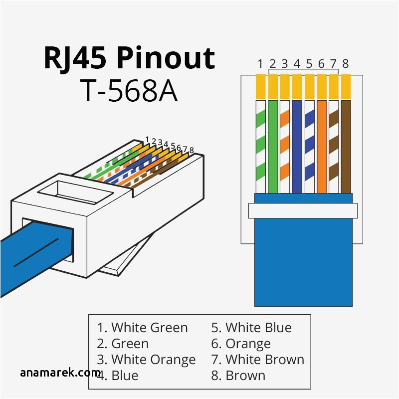 cat 5 wiring diagram Collection-Cat 5 Cable Color Code Luxury Pin Connector Wiring Diagram Awesome Cat 5e Wiring Diagram 5 Wiring 13-i