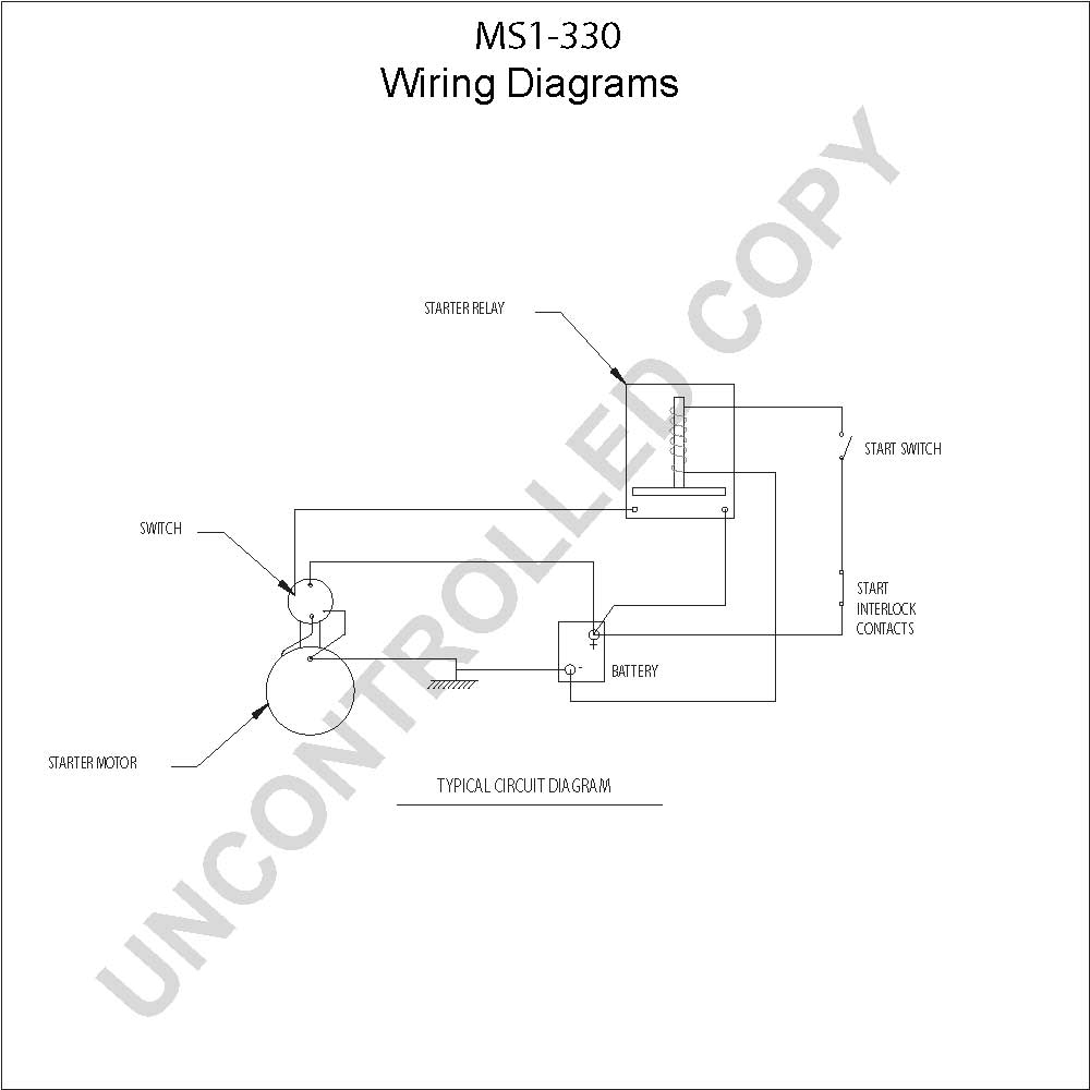 caterpillar starter wiring diagram Download-MS1 330 Wiring Diagram 5-m