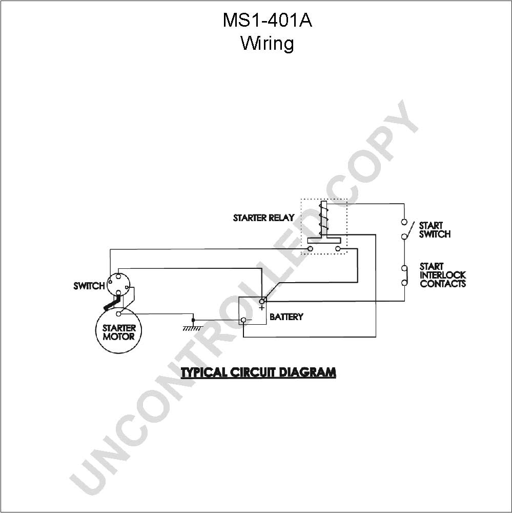 caterpillar starter wiring diagram Download-MS1 401A Wiring Diagram 8-m