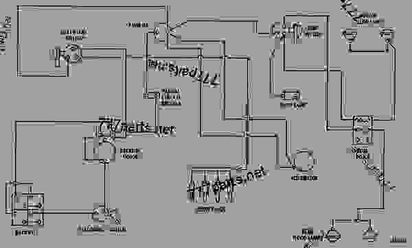 caterpillar starter wiring diagram Download-WIRING DIAGRAM TRACK TYPE TRACTOR Caterpillar D4D D4D TRACTOR 07R UP MACHINE POWERED BY 3304 ENGINE STARTING AND ELECTRICAL SYSTEM 7-k