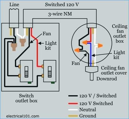 ceiling fan control switch wiring diagram Download-Wiring A Ceiling Fan with Two Switches Diagram New Wiring A Ceiling Fan with Light with e Switch – Zokpartizanub 18-r