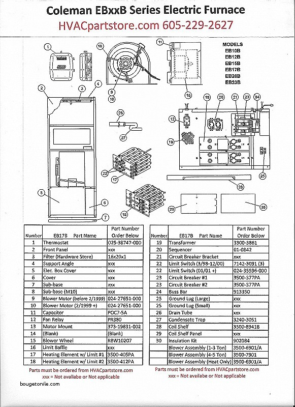 central electric furnace eb15b wiring diagram Collection-coleman evcon coleman evcon eb17b wiring diagram oil furnace schematic diagram coleman evcon parts diagram 5-d